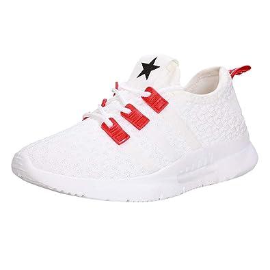 Zapatillas Deportivas Mujer💗 Btruely Zapatos de Planas con Cordones Calzado de Running Net para Estudiante Gimnasia Ligero: Amazon.es: Zapatos y ...