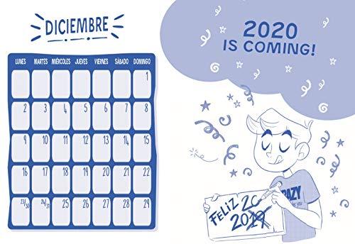 EL AÑO MAS CRAZY AGENDA CURSO 2019-2020 SERIE THE CRAZY H ...