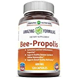 Amazing Nutrition Amazing Formulas Bee Propolis Dietary Supplement - 600 mg - 120 Capsules - Antioxidant and Anti-inflammatory Properties - Supports Healthy Immune System