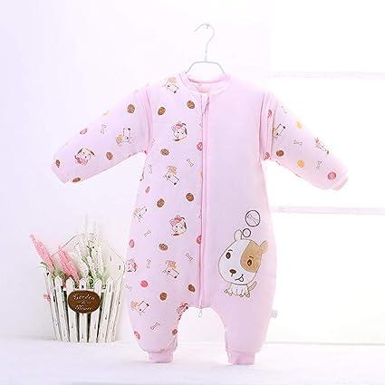 Gleecare Saco de Dormir para bebé,Termales de otoño/Invierno Engrosamiento Partido contra Patada