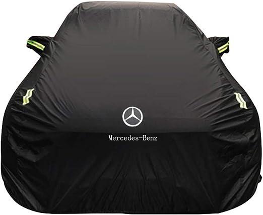 Size : Oxford Cloth - Single Layer Funda para Coche JIANPING Cubierta del Coche Cubierta Gruesa del pa/ño de la Lluvia del Sol del pa/ño de Oxford para los Modelos de la Clase C de Mercedes-Benz