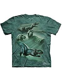 The Mountain Dinosaur Collage T-Shirt