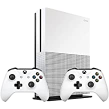 Xbox One S 1TB Bundle (2 items): Xbox One S 1TB Console and an Extra Pair of Xbox Wireless Controller White