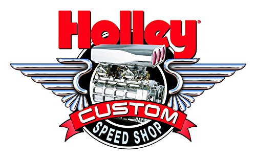 Holley 36-279 Large Custom Speed Shop Decal - Heads Holley Cylinder