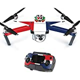 Skin For DJI Mavic – Dominican Flag | MightySkins Protective, Durable, and Unique Vinyl Decal wrap cover | Easy To Apply, Remove, and Change Styles | Made in the USA