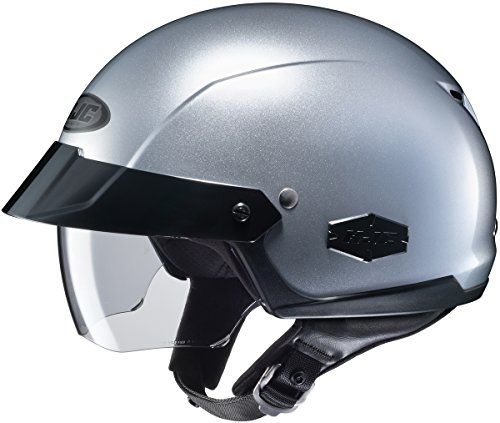 HJC Is-cruiser Silver Size:MED Motorcycle Open-face-helmet