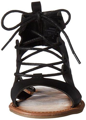 Indigo Rd.. Women's Bardot Gladiator Sandal Black 45LuI8D