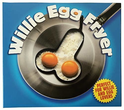 Willie Egg Fryer Penis Shaped Ring by Spencer & Fleetwood