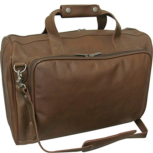 amerileather-18-inch-leather-carry-on-weekend-duffel-toffee