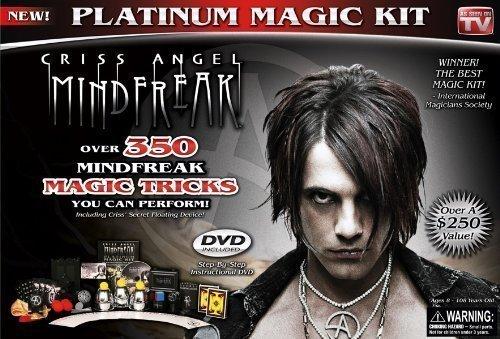 Criss Angel Platinum Magic Kit, Black]()