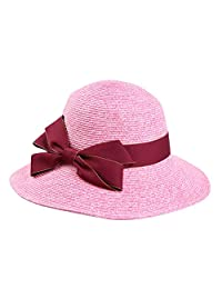 Ladies summer beach Hat/Visor/Holiday Sun Hat/sunhat/UV collapsible straw hat