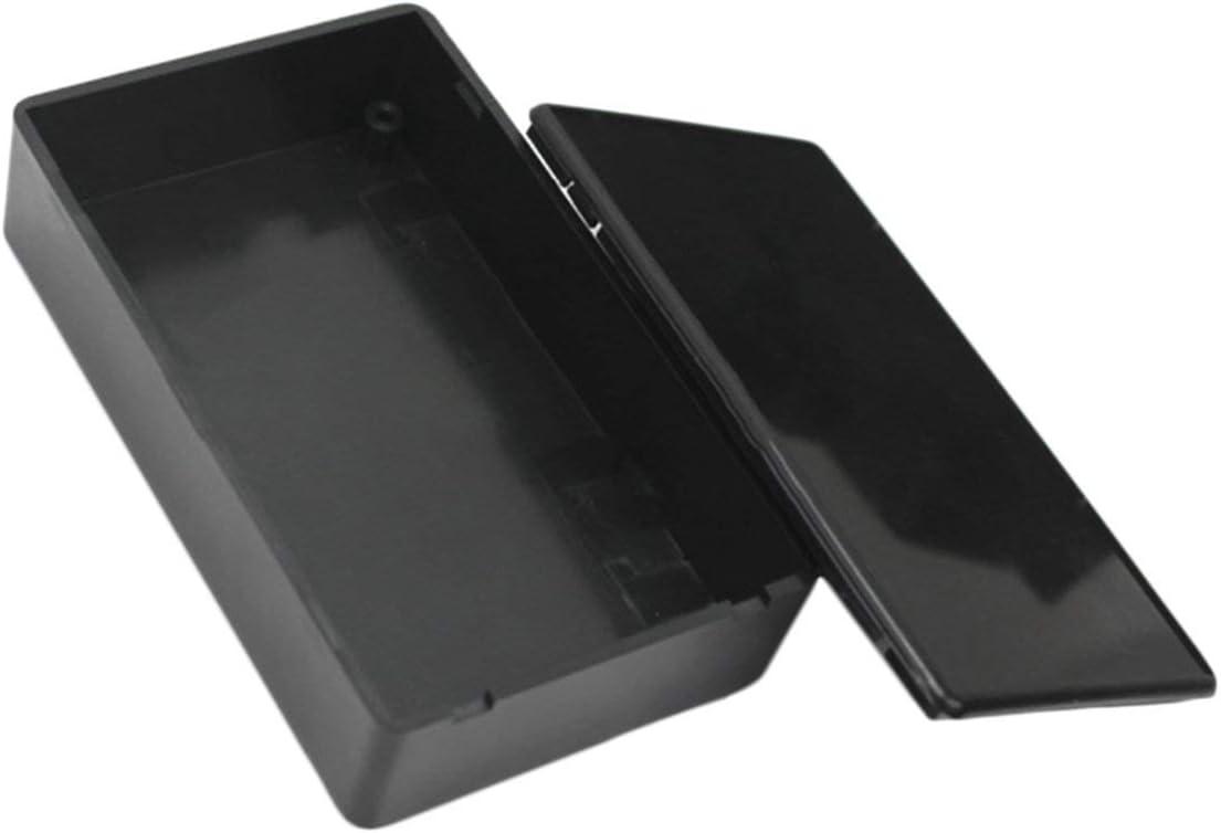5Pcs DIY Kunststoff elektronische Project Box-Geh/äuse Instrument 100x60x25mm Electronics Stock Leistung wasserdichte Box DEjasnyfall schwarz