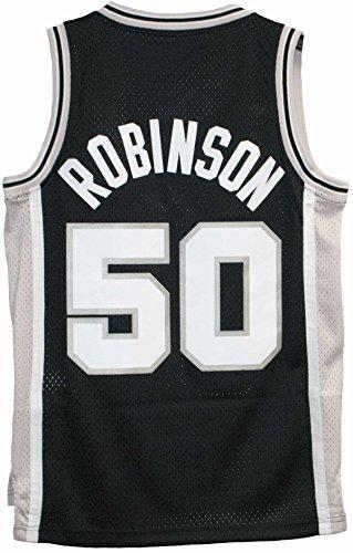 David Robinson New Soulman San Antonio Spurs Adult Size Throwback Jersey (Small) (Spurs Robinson David)
