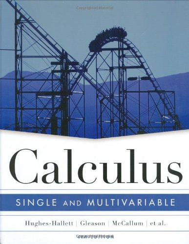 Calculus: Single and Multivariable