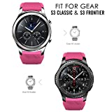 Gear S3 Frontier/ Classic Watch Band, MoKo [6-PACK] Soft Silicone Sport Replacement Strap for Samsung Gear S3 Frontier/S3 Classic/Moto 360 2nd Gen 46mm Smart Watch, NOT FIT S2 Classic&S2, Multi Colors