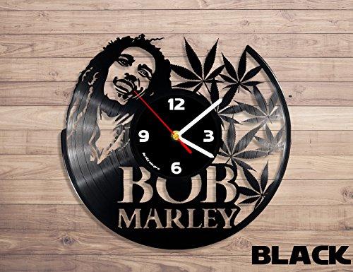 ArtGrain.pro Bob Marley vinyl record wall clock