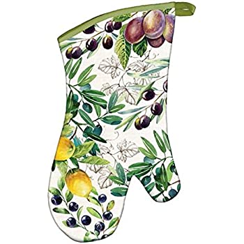 Michel Design Works Padded Cotton Oven Mitt, Tuscan Grove
