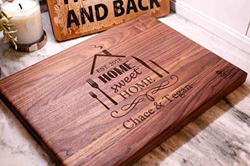 Real Estate Closing gifts, Housewarming Gifts - Add Your Logo and information to this cutting board!