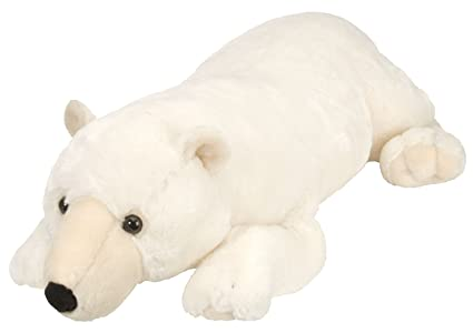 Amazon Com Wild Republic Jumbo Polar Bear Plush Giant Stuffed