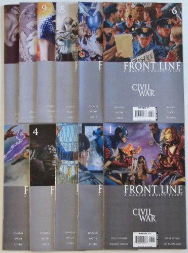 Civil War: Front Lines Marvel Comic Volumes 1-11