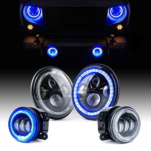 Blue Led Halo Lights in US - 3