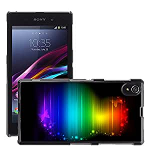 Super Stellar Slim PC Hard Case Cover Skin Armor Shell Protection // M00052940 aero 2 colorful // Sony Xperia Z1 L39H
