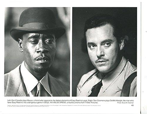 MOVIE PHOTO: DEVIL IN A BLUE DRESS-1995- 8 X 10-DRAMA-CRIME-DON CHEADLE-TOM SIZEMORE-vg