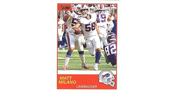 low priced da095 1a74c Amazon.com: 2019 Score #129 Matt Milano Buffalo Bills ...