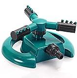 Lawn Sprinklers,Circular Sprayer Durable Rotary Three Arm Water Sprinkler