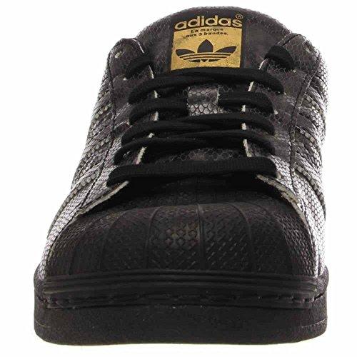 Adidas Superstar Rival River East Mens Scarpe Da Basket B34376 Nucleo Nero Nucleo Nero-oro 11 M Us