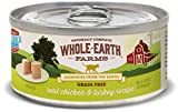 Cheap Whole Earth Farms 24 Case Grain Free Real Chicken & Turkey Recipe, 2.75 Oz