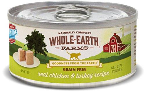 Cheap Whole Earth Farms 24 Case Grain Free Real Chicken & Turkey Recipe, 2.75 Oz