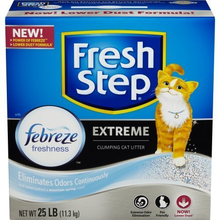 Fresh Step Extreme Clumping Cat Litter (25 lb - 3 box)