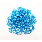 Yueton® 100pcs Male Fully Insulated Wire Crimp Terminal Nylon Quick Connectors Wiring Spade