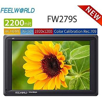 Amazon com : FEELWORLD FW279S 7 Inch Ultra Bright 2200nit
