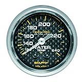 "Auto Meter 4732 Carbon Fiber 2-1/16"" 120-240 F Mechanical Water Temperature Gauge"