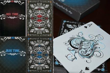 Tune (54 cartas rojas Dos Formato Poker): Amazon.es ...
