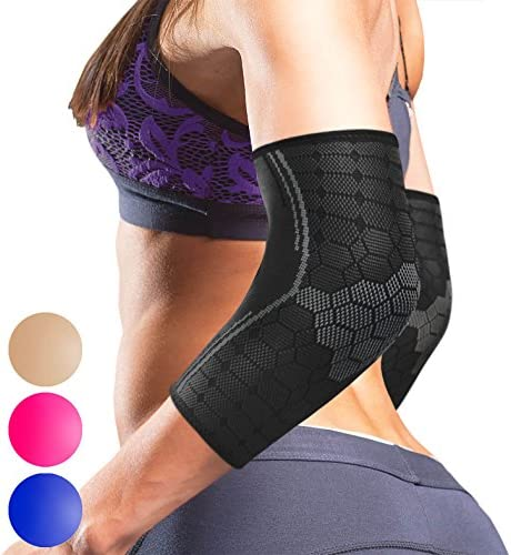 Sparthos Elbow Compression Sleeves Pair