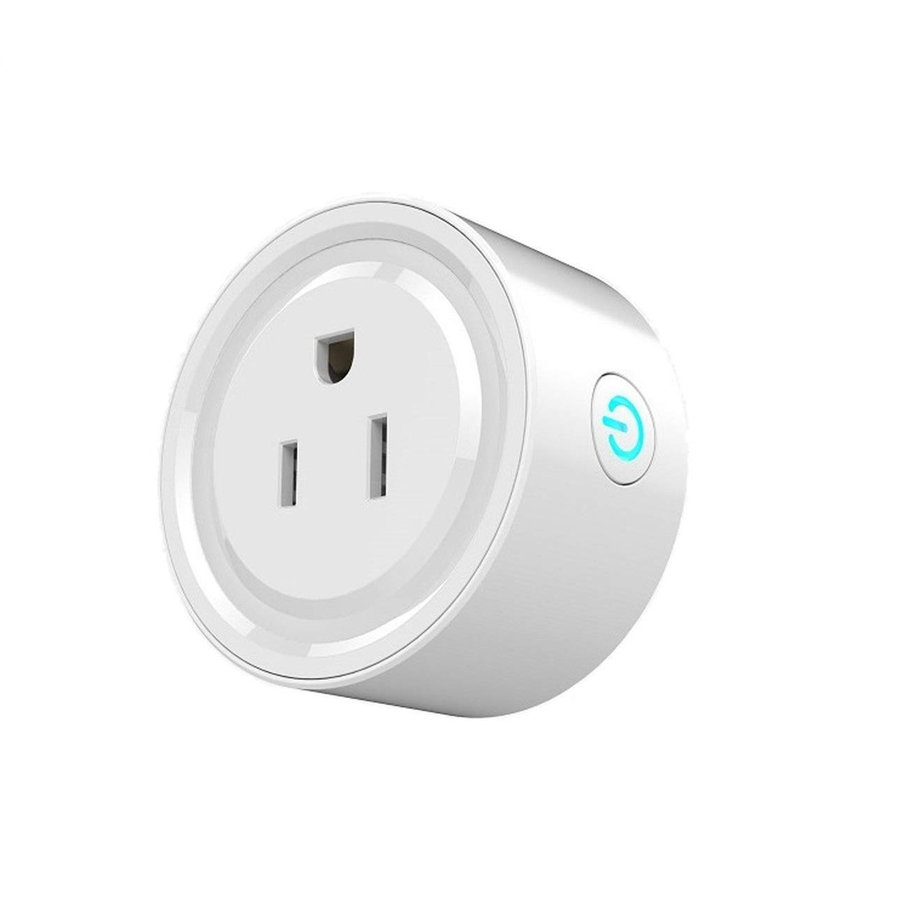Mini Smart Socket Wifi Plug US Work with Alexa Echo Dot Voice Control No Hub Required Timing Function (2 Pack) by EVO-SMART (Image #2)