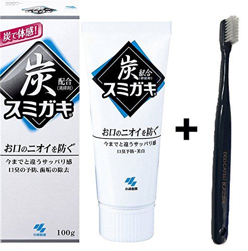 Japan Charcoal Toothpaste with Original Toothbrush (1 with toothbrush)