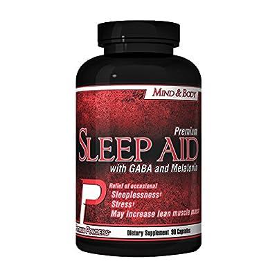 Sleep Aid by Premium Powders 90 Capsule Bottle