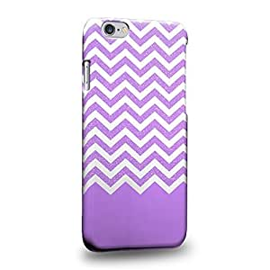 """Fashion Purple glitter chevron trend mix Protective Snap-on Hard Back Case Cover for Apple iphone 5c"""""""