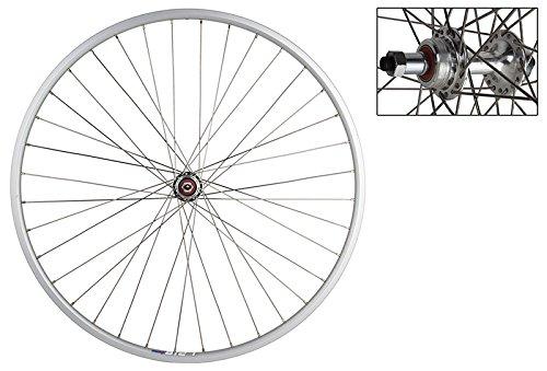 Wheel Master Weinmann LP18 Rear Wheel - 27'' x 1, 36H, 5/6/7-Speed, QR, Silver