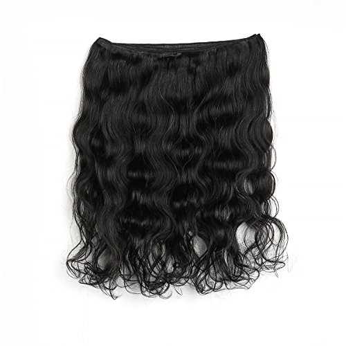 [Rosette Hair Body Wave Brazilian Human Hair Extension 100% Unprocessed Virgin Remy Hair Weaves Natural Black Color 100g/Bundle] (Indian Costume No Sew)