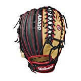 Wilson 2018 A2000 OT6 Ss Outfield Gloves - Right Hand Throw Blonde/Black/Red, 12.75""