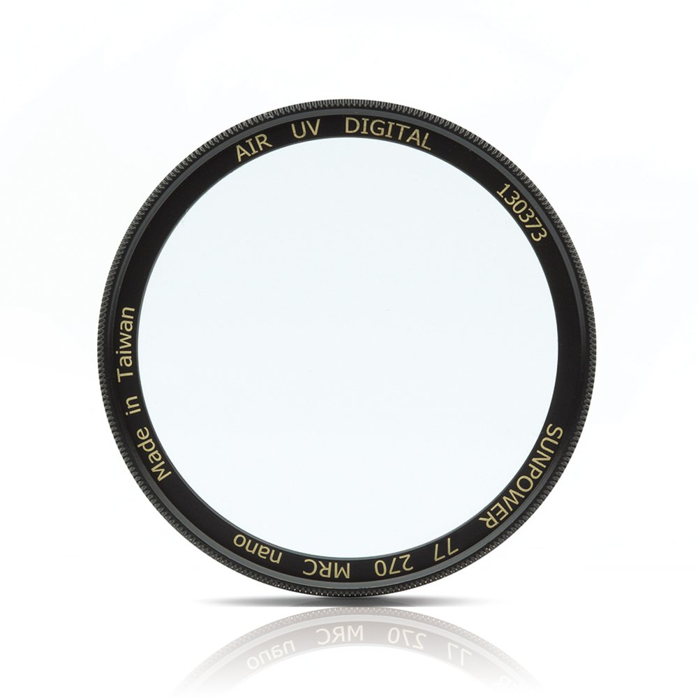 for Diameter:37mm-105mm SUNPOWER Air Nano Protective Camera Filter with Brass Ring Only 3mm Ultra Thin Frame Double Sided 36 Layers Coating MRC Coating