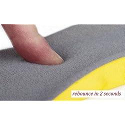 Happystep Plantar Fascistic Orthotics Memory Foam Insoles Shoe Inserts (Size L: US Men 8-12 or Women 9-14)