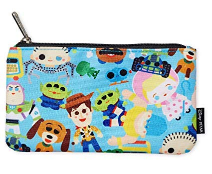 - Loungefly Disney Toy Story Zippered Cosmetic Makeup or Pencil Pouch - WDCB0508