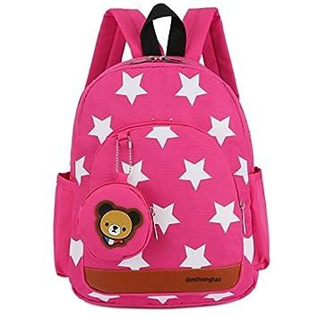 Driverder Exquisita y Práctica Mochila Mochila para niños de guardería Kindergarten Mochila para niños Creativa de Dibujos Animados (Rosy): Amazon.es: ...