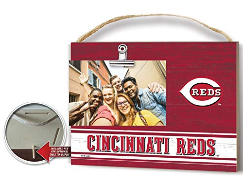 KH Sports Fan Clip It Colored Logo Photo Frame Cincinnati Reds